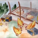 איור - איור ספרי ילדים מאת מאיירת אינה דוידוביץ