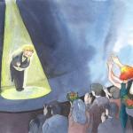 איור לספרי ילדים מאת מאיירת אינה דוידוביץ