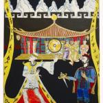 """""""טורנדוט"""" - לתערוכה של אגודת המאיירים בבית האופרה"""