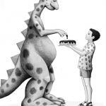 """מתוך """"הדינוזאור מרמת-גן"""" - זואי בן שנה"""