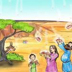 איור - naama מן השמיים יציאת מצריים