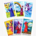 איור קלפים טיפוליים -מתוך עולם הקלפים של איציק -קלפי מרילין,  נריה