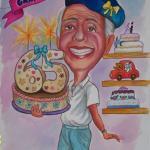 קריקטורה למתנה -לאבא בן 65