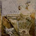 איור לתערוכת היינה בבית אריאלה - אורנה איזנברג
