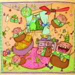 ספר ילדים על עלילות פומפלי השובב, קנדה