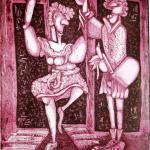 ריקוד להנאה - תחריט נחושת