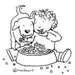 Yummy Dogfood- By Varda Livney